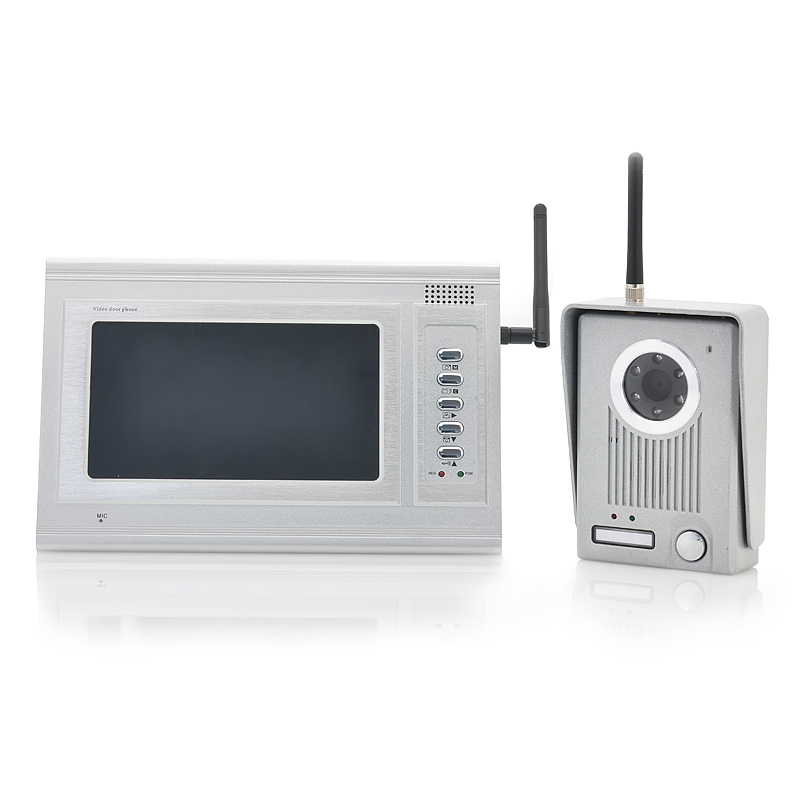 Front Door Security Camera Iphone: Front Door Camera Wifi. 2 4GHz Wireless Video Door Camera