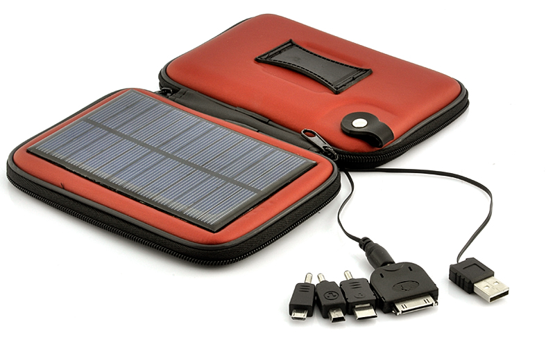 Solar Battery Charger Case Weatherproof 2200mAh Battery | eBay