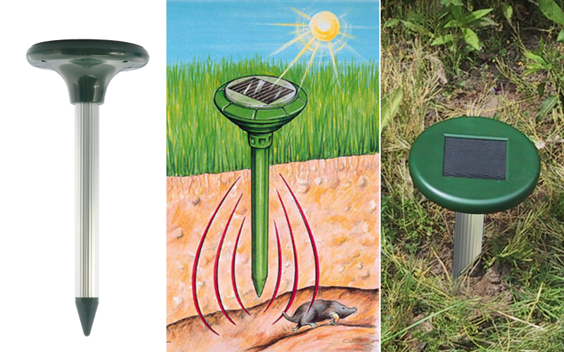 Solar powered ultrasonic pest repeller outdoor use 650 square meter range ebay - How to keep intruders out of your garden ...