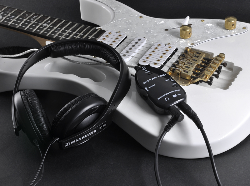 usb electric guitar connector guitar to usb interface for pc mac. Black Bedroom Furniture Sets. Home Design Ideas